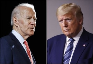 The Divided States of America Trump Biden spaarvarkens.be